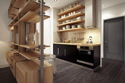 部屋を隔てる作り付けの巨大収納とキッチン収納_[0].jpg